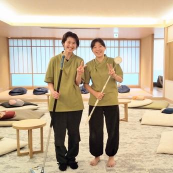 <未経験OK>きれいで居心地バツグンの空間を保ちましょう!江戸遊の館内クリーンスタッフ大募集!